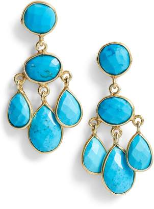 Jemma Sands Marin Semiprecious Stone Chandelier Earrings