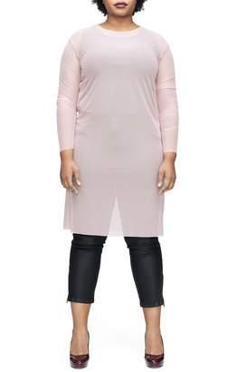 Universal Standard Thames Fog Sheer Dress