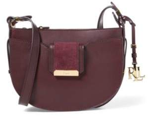 Ralph Lauren Vachetta Leah Crossbody Bag Port One Size