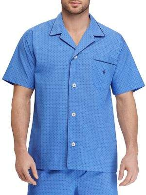 Ralph Lauren Printed Cotton Pajama Shirt