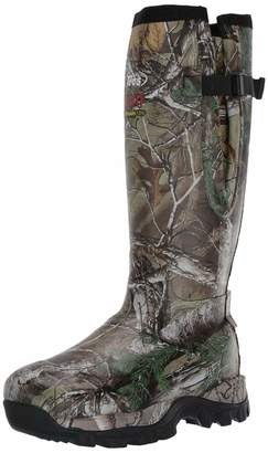 """Tecs TECS Men's 17"""" Rubber Boots: Neoprene Fleece Lining Waterproof for Hunting Camping Fishing Hiking and The Outdoors"""