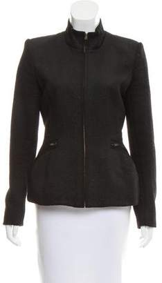 Theyskens' Theory Alpaca Fitted Blazer