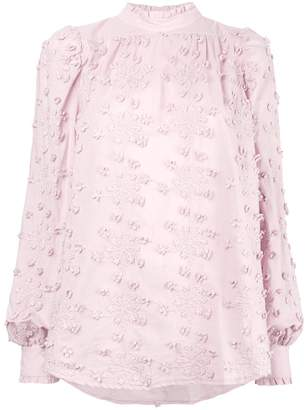 See by Chloe embroidered top