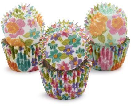 Sur La Table Meri Meri® Floral Mini Bake Cups, Set of 96