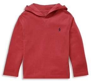 Ralph Lauren Little Boy's Cotton Jersey Hoodie