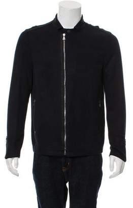 John Varvatos Ribbed Shirt Jacket