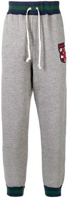 Polo Ralph Lauren logo patch drawstring trousers