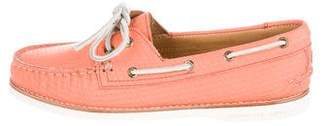 Sperry Leather Round-Toe Loafers