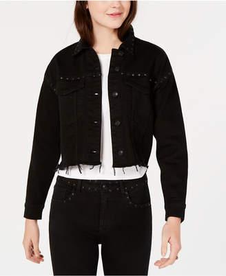 M1858 Olivia Cropped Denim Jacket