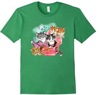 Zany Brainy Cat T-shirt   Kittens And Shoes   Cute Cats
