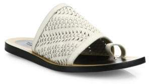 Rag & Bone Avril Woven Leather Slides