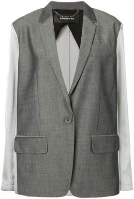Barbara Bui contrast fitted blazer