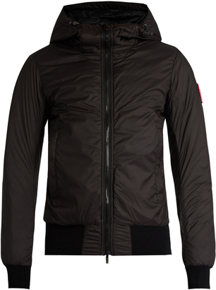 CANADA GOOSE Dore down bomber jacket $468 thestylecure.com