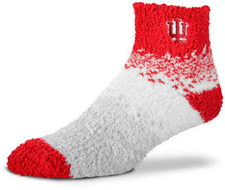 For Bare Feet Indiana Hoosiers Marquee Sleep Soft Socks
