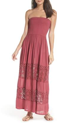 Chelsea28 Farrah Smocked Cover-Up Maxi Dress