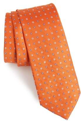 1901 Ladrido Dot Silk Skinny Tie