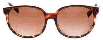 Alain Mikli Round Tinted Sunglasses