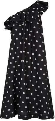 Stine Goya Valentina Daisy One-Shoulder Dress