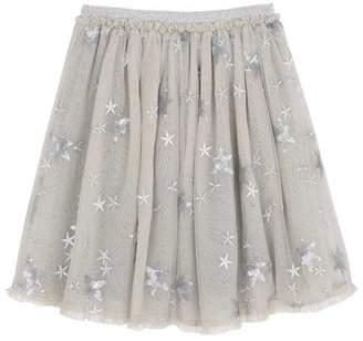 Mint Velvet Dove Sequined Star Tutu Skirt