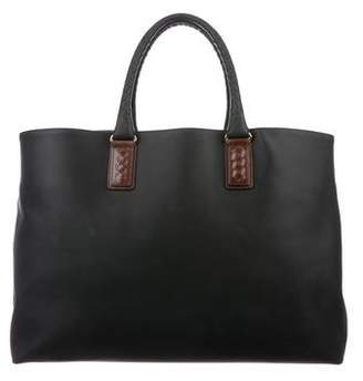 Bottega Veneta Marco Polo Canvas Tote