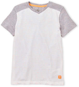 DKNY Boys 8-20) Speckled V-Neck Tee