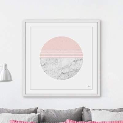 Wayfair 'Ions Effect' Framed Graphic Art Print