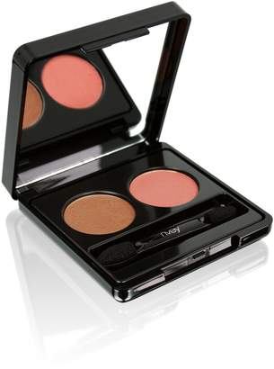 Nvey Eco Cosmetics Eye Duo - Sunkissed Bronze + Earth Rose