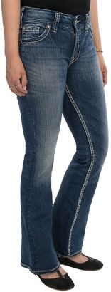 Silver Jeans Suki Flap Jeans - Mid Rise, Bootcut (For Petite Women) $34.95 thestylecure.com
