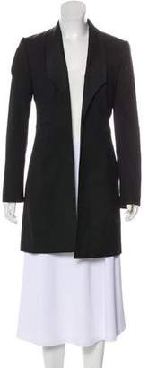 Dolce & Gabbana Virgin Wool Shawl-Lapel Coat