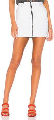 Cotton Citizen Mini Zip Skirt.