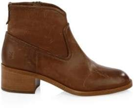 Frye Claire Leather Booties
