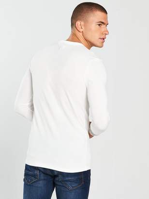 River Island LS Muscle Fit Tshirt