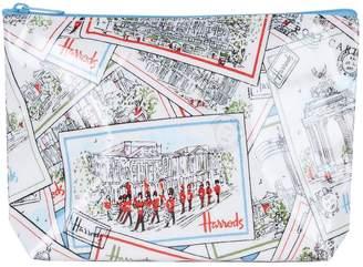 Harrods London Postcards Travel Pouch