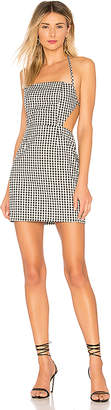 by the way. Elaine Gingham Cut Out Dress