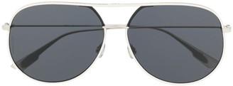 Christian Dior black Aviator sunglasses