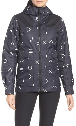 Women's The North Face Nevermind Waterproof Jacket $199 thestylecure.com