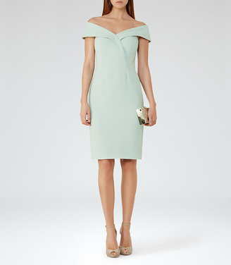 Haddi Off-The-Shoulder Dress $360 thestylecure.com
