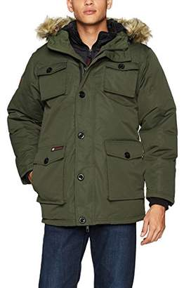 Canada Weather Gear Men's Heavy Weight Parka With Vestee
