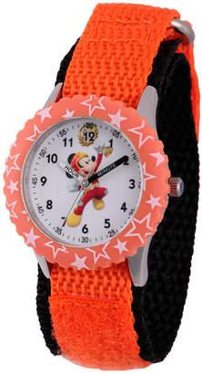 DISNEY MICKEY MOUSE Disney Mickey Mouse Boys Orange Strap Watch-Wds000181