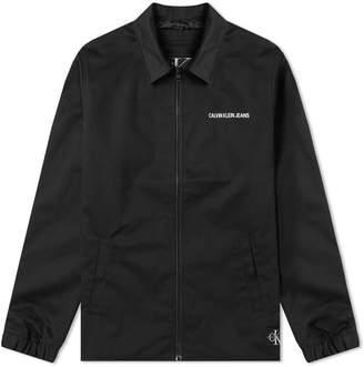 Calvin Klein Institutional Logo Coach Jacket