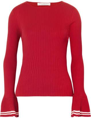 Philosophy di Lorenzo Serafini Ribbed Cotton Sweater - Red