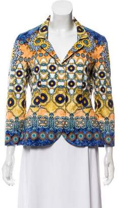 Philosophy di Alberta Ferretti Lightweight Button-Up Jacket