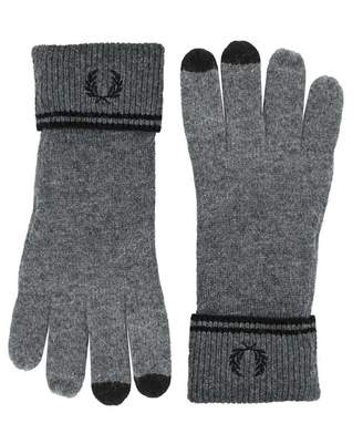 Fred Perry Acc Twin Tipped Lambswool Gloves