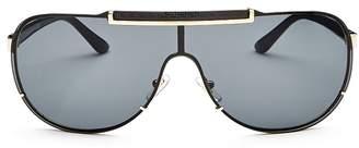 Versace Men's Shield Sunglasses, 65mm