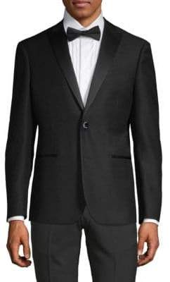 Trim-Fit Peak Lapel Tuxedo Jacket