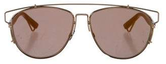 Christian Dior Technologic Aviator Sunglasses