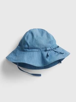 Gap Chambray Bow Floppy Hat