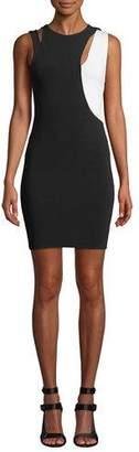 Alice + Olivia Karla Cutout Sleeveless Dress