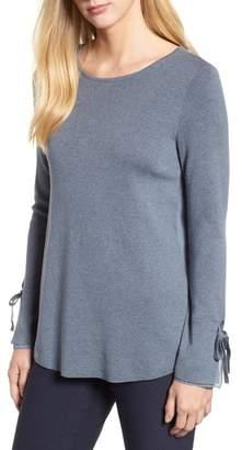 Nic+Zoe Essence Tie Sleeve Top