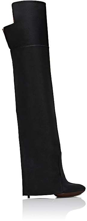 Givenchy Women's Newton Leather Over-The-Knee Boots